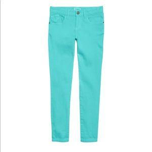 •KidPik• Turquoise Super Soft Skinny Jeans